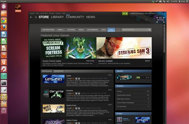 Valve opens Steam for Linux beta, asks users to track bugs via GitHub
