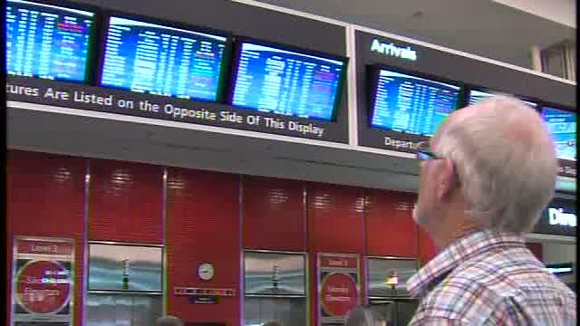Power outage causes delays at TIA