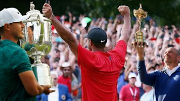 Tiger tops golf's newsmakers of the year