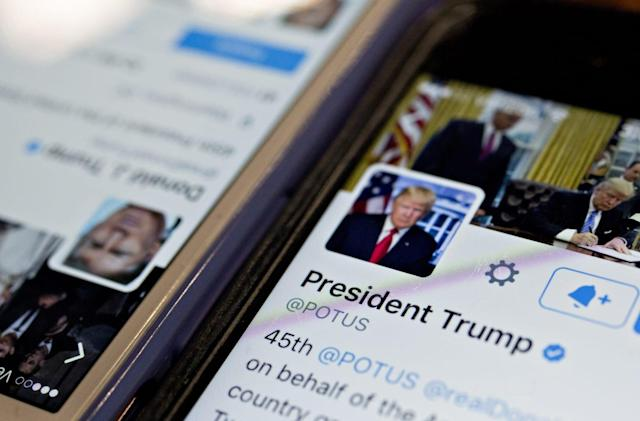 Twitter tries to explain why Trump's posts aren't like others
