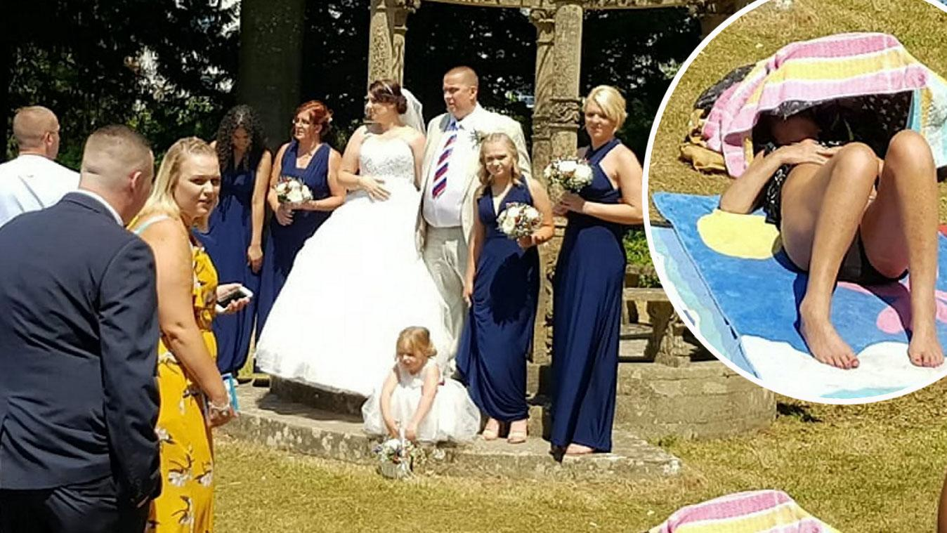 foto This Couples Wedding Photo Went Horribly Wrong in the Most Hysterical Way