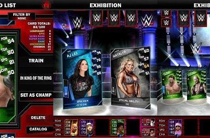 WWE SuperCard superkicks 1.5 million downloads