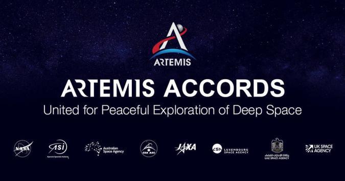 NASA Artemis Accords founding members