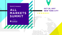 Yahoo Finance: All Markets Summit, October 25, 2017