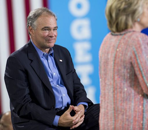 Hillary Clinton Chooses Tim Kaine as Her Running Mate