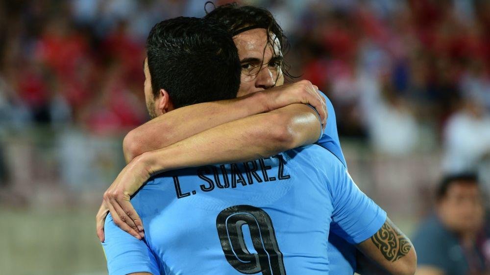 Suarez et Cavani convoqués en sélection