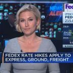 FedEx raising rates by an average of almost 5%
