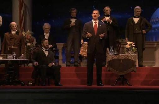 Walt Disney World unveils incredibly scary, robotic version of President Obama