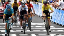 Tour de France 2020: Adam Yates clings tight to yellow on day of drama