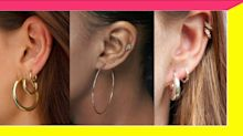 Find Your Perfect Pair Of Hoop Earrings On Etsy Under $50