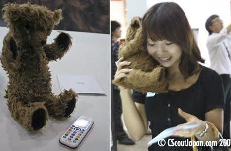 Conceptual teddy bear phone shown off in Japan, could totally sell for $199 on contract