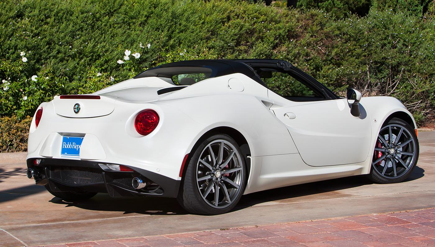 2016 alfa romeo 4c spider top speed