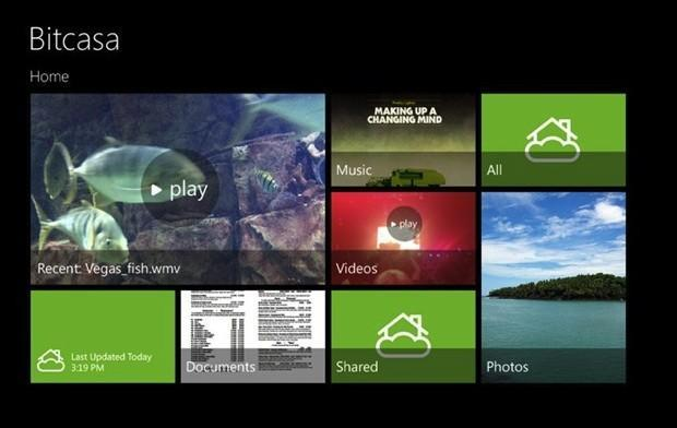 Bitcasa brings limitless cloud storage to Android and Windows 8 today, iOS in January