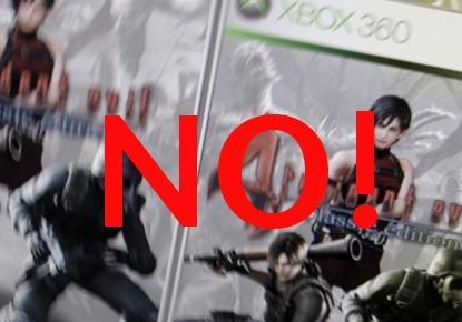 RE4 for 360 rumor shot down by Capcom