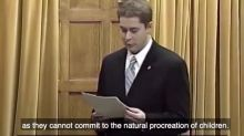 Conservative Leader Andrew Scheer goes on anti-gay marriage tirade in unearthed video