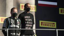 Hamilton sorgt mit politischer Botschaft für Aufsehen