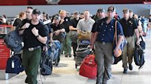 American Firefighters Greeted With Cheers In Australia Upon Arrival To Combat Fires