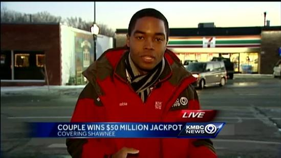 Johnson County couple claims Powerball prize