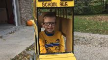 Mum's genius Halloween costume for son with spina bifida
