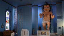 """La gente está convencida de que el Niño Dios de Zacatecas se parece a Phil Collins: """"Todo se decidió en Génesis"""""""