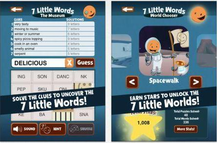 Daily iPhone App: 7 Little Words for Kids is a well-made word game for youngsters