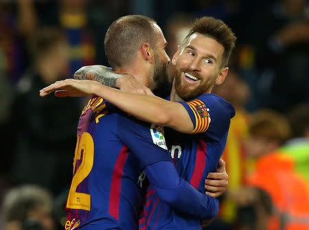 El Barcelona golea 6-1 al Eibar con cuatro tantos de Messi
