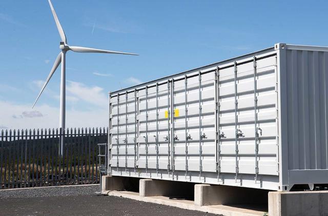 BMW i3 batteries provide energy storage for UK wind farm