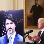 Biden, Trudeau pledge to counter China, climate change, in warm first 'meeting'