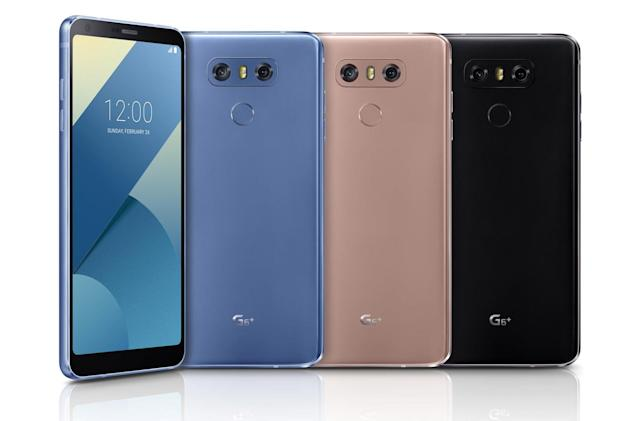 LG's enhanced G6+ has more storage and premium sound