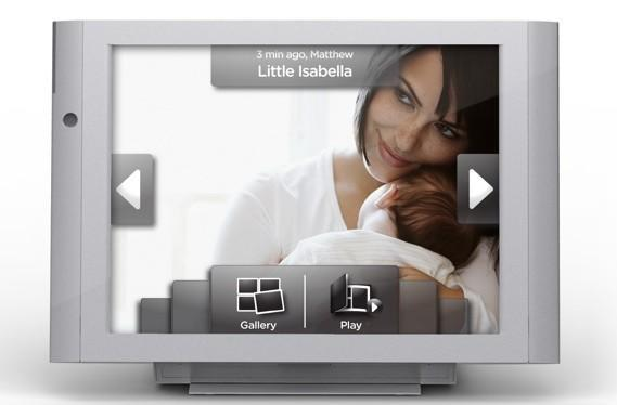Vizit cellular photo frame arrives March 23rd, your mom can't afford one