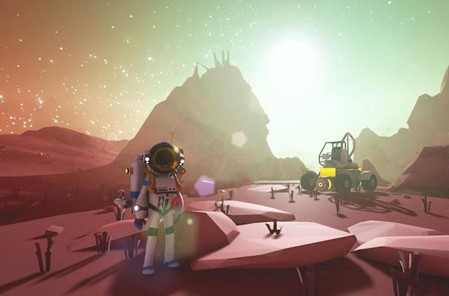 Make your space fortune in 'Astroneer' on December 16th