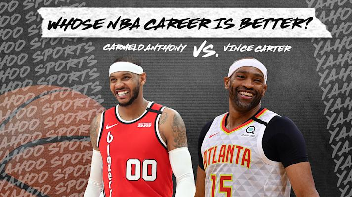 Whose NBA career is better? Carmelo Anthony vs. Vince Carter