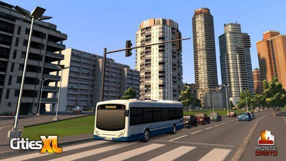 Cities XL's new content pack to add bus systems