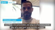 """Gago: """"Messi kann so lang bleiben, wie er will"""""""