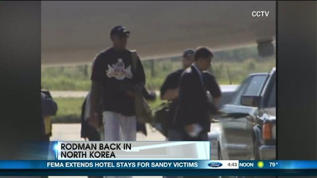Will Dennis Rodman Play Diplomat With North Korea?