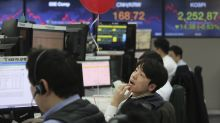 Asian shares higher despite growing impact of China virus