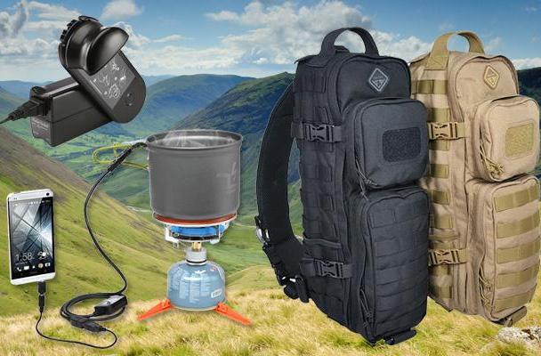 Engadget giveaway: win a charged-up camping combo courtesy of ThinkGeek!