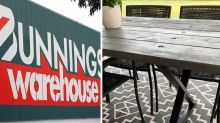 Stunning Bunnings DIY creates budget outdoor furniture