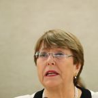 U.N. rights boss decries Venezuela crackdown; says sanctions may worsen crisis