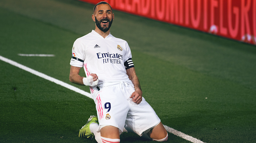 Karim Benzema thriving in starring Madrid role