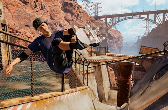'Tony Hawk's Pro Skater 1 and 2' arrives on PS5 and Xbox Series X