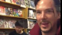 O dia em que o Doutor Estranho em pessoa resolveu visitar uma loja de quadrinhos