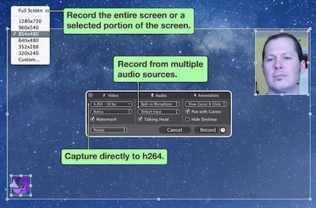 Iris Screen Recorder: A fast way to grab Mac screen videos