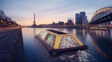 ¡Descubre el gimnasio flotante en París!