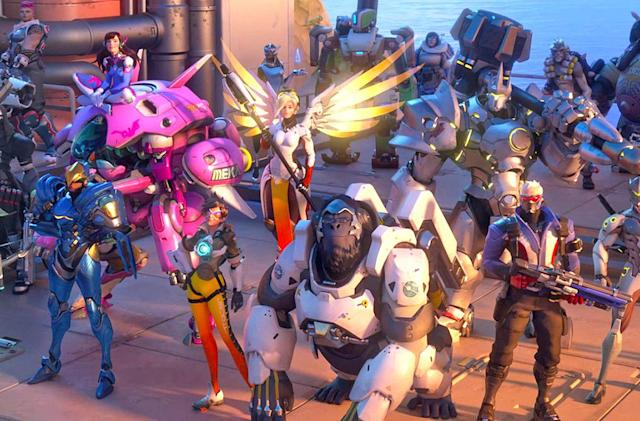 Overwatch heroes are getting Olympic-themed makeovers
