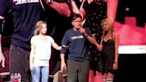 Charlie Sheen Has a Message For Future Goddesses