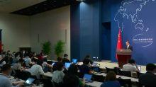 China promete resposta forte ao Reino Unido