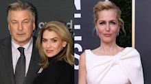 Alec Baldwin Shades Gillian Anderson After Wife Hilaria's Accent Controversy