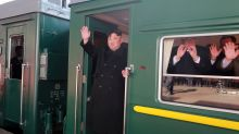 North Korea confirms leader Kim Jong Un on train to summit