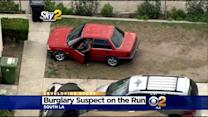 Police Catch Burglary Suspect In The Act, Chase Him Around South LA